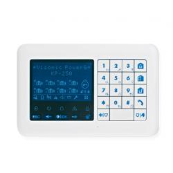Clavier LCD à touches avec lecteur de proximité