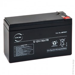 Batterie au plomb   12V - 7Ah