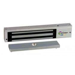 Ventouse électromagnétique applique 300 DaN 12-24V DC conforme NF S 61 937