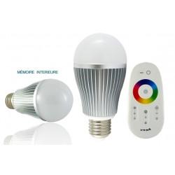 Ampoule LED RGB E27 8W
